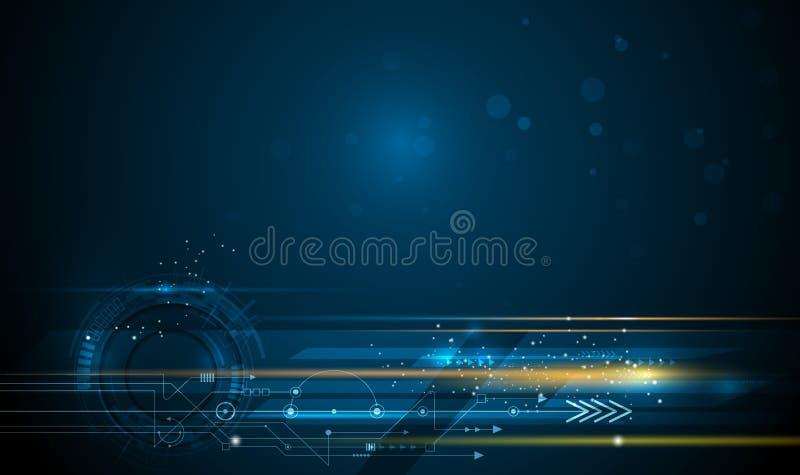 Wektorowy abstrakt, nauka, futurystycznej, energetycznej technologii pojęcie, ilustracji