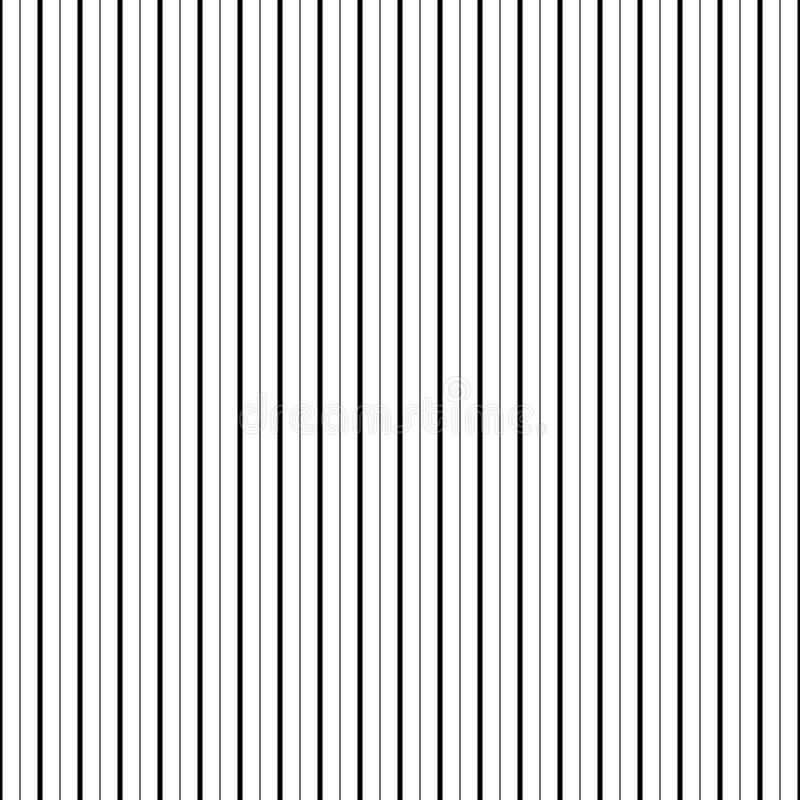 Wektorowy bezszwowy linia wzór czarny i biały tło abstrakcjonistyczna tapeta również zwrócić corel ilustracji wektora ilustracja wektor