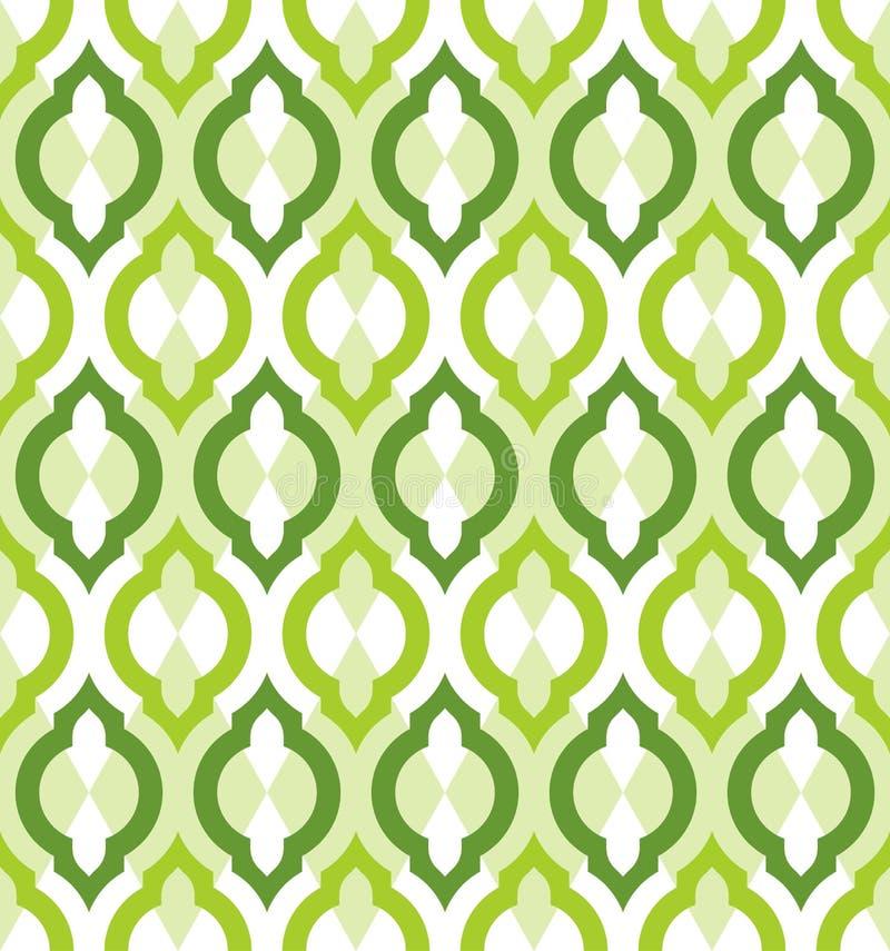 Wektorowy bezszwowy wzór. Marokańczyka styl. ilustracji