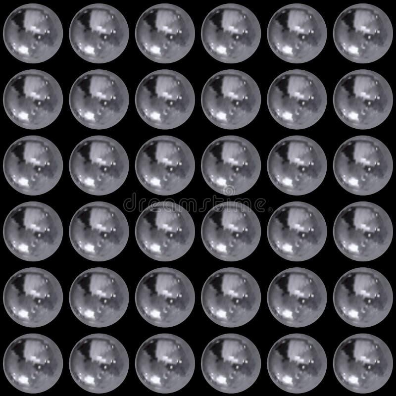 Wektorowy Bezszwowy wzór, technologii Abstrakcjonistyczny tło, Realistyczna Szczegółowa ilustracja, Monochromatyczny tło ilustracji