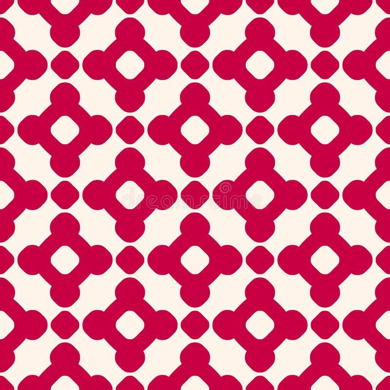 Wektorowy bezszwowy wzór w azjata stylu Świąteczny wakacyjny projekt dla druków, tkanina, dekoracja, prezenta papier royalty ilustracja