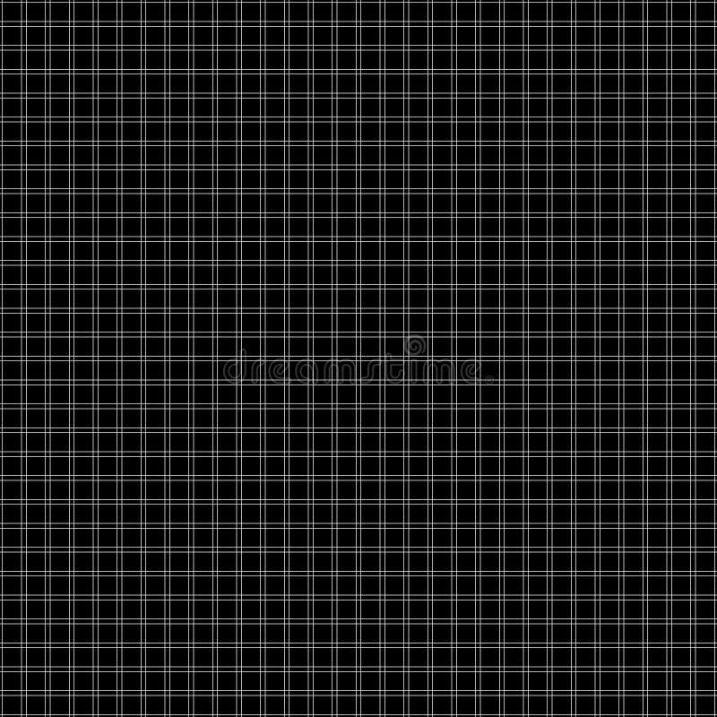 Wektorowy bezszwowy wzór z cienkimi liniami griddle ilustracja wektor
