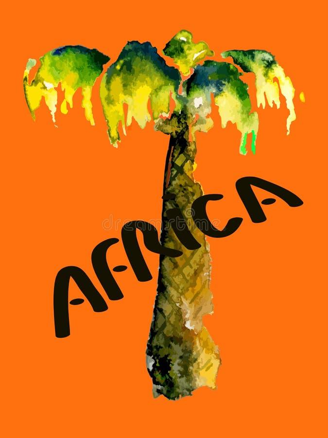 Download Wektorowy drzewko palmowe ilustracji. Ilustracja złożonej z wyspa - 53789266