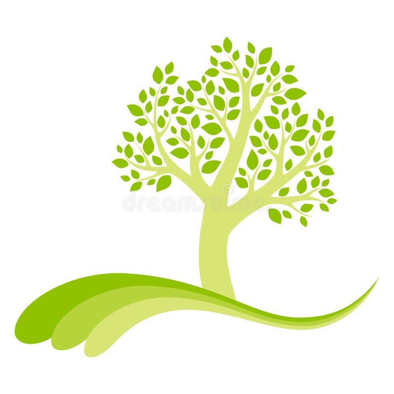 Wektorowy drzewo ilustracji