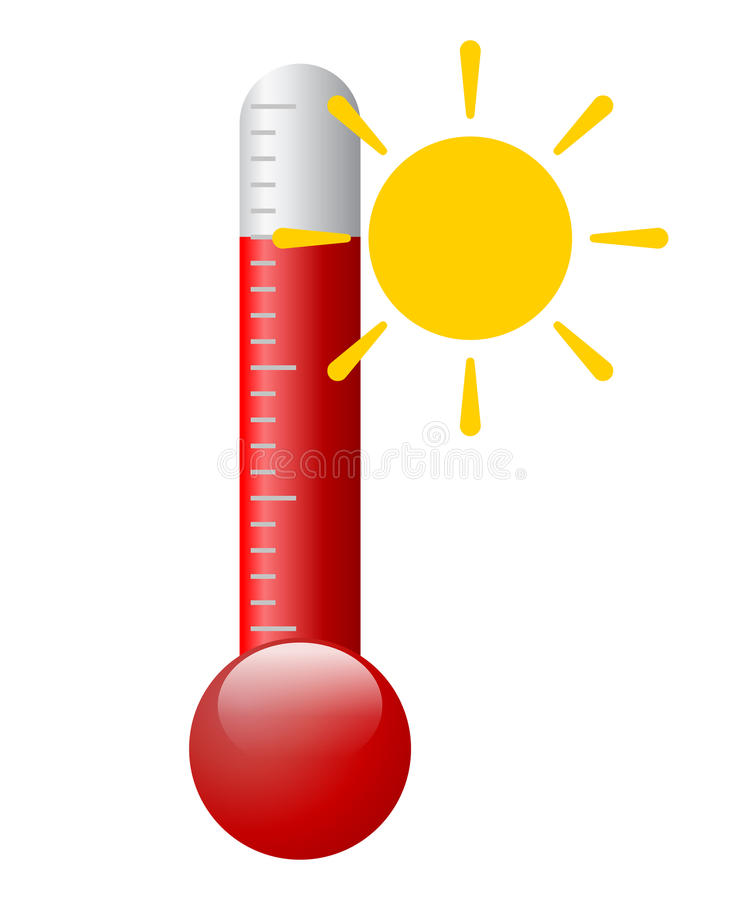 Wektorowy gorący symbol ilustracji