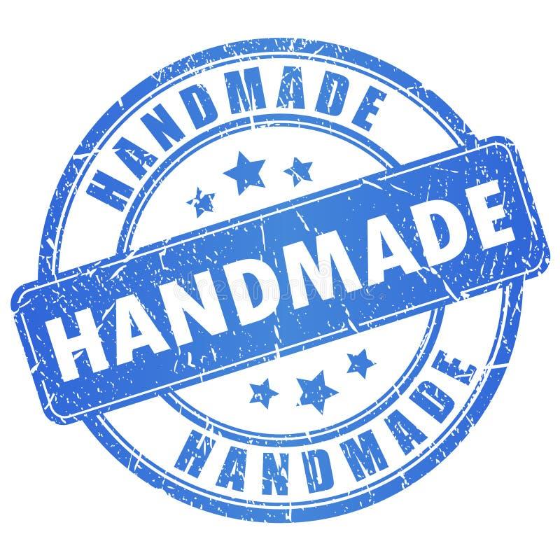 Wektorowy handmade znaczek ilustracji