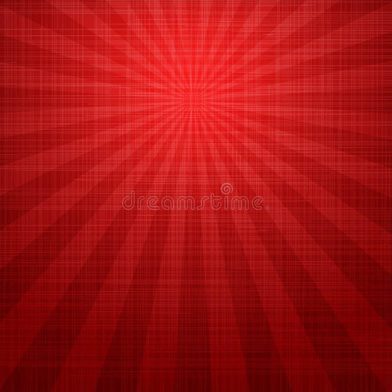 Abstrakcjonistyczny czerwony grunge tło ilustracji