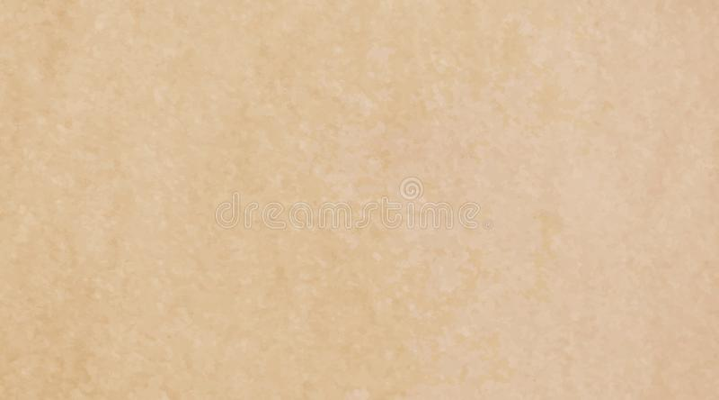 Wektorowy ilustracyjny brązu i koloru żółtego aquarele słoistej struktury Kraft papieru tekstury stary tło Grunge wodnego koloru  ilustracji