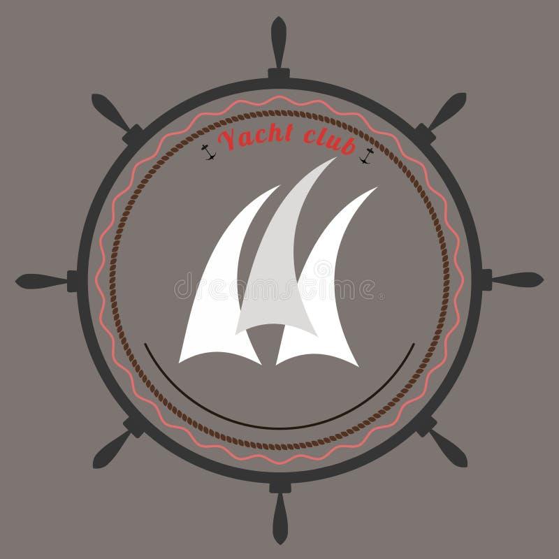 Download Wektorowy Jachtu Klubu Logo Ilustracja Wektor - Ilustracja złożonej z gatunek, emblemat: 57674822