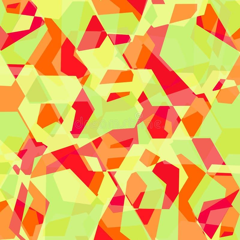 Wektorowy jaskrawy geometryczny abstrakcjonistyczny tło zdjęcie royalty free
