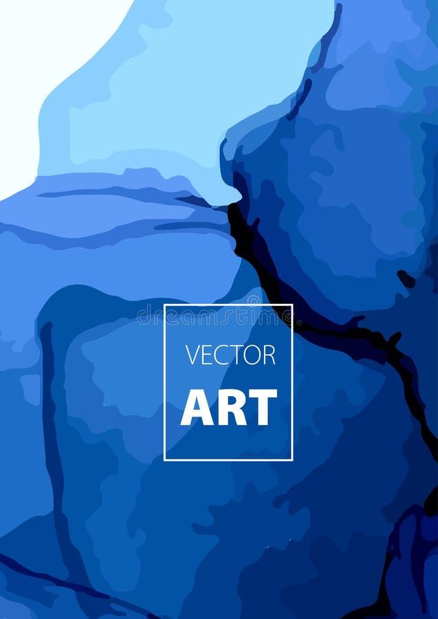 Wektorowy Kolorowy pokrywa projekt ustawiający z teksturami Zbliżenie obraz Abstrakcjonistyczna jaskrawa ręka malujący tło ilustracja wektor
