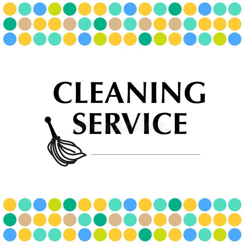 Wektorowy logo dla czyści firmy royalty ilustracja