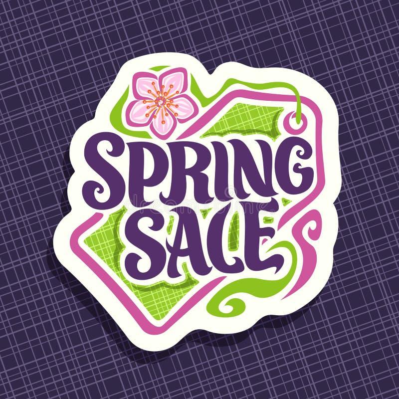 Download Wektorowy Logo Dla Wiosna Sezonu Sprzedaży Ilustracja Wektor - Ilustracja złożonej z transakcja, pojęcie: 106902255