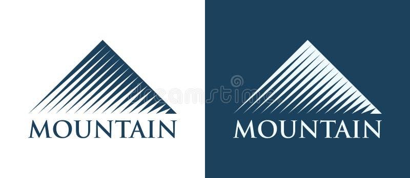 Wektorowy logotyp góry ilustracji