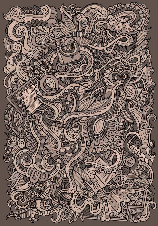 Wektorowy mody tło ilustracja wektor