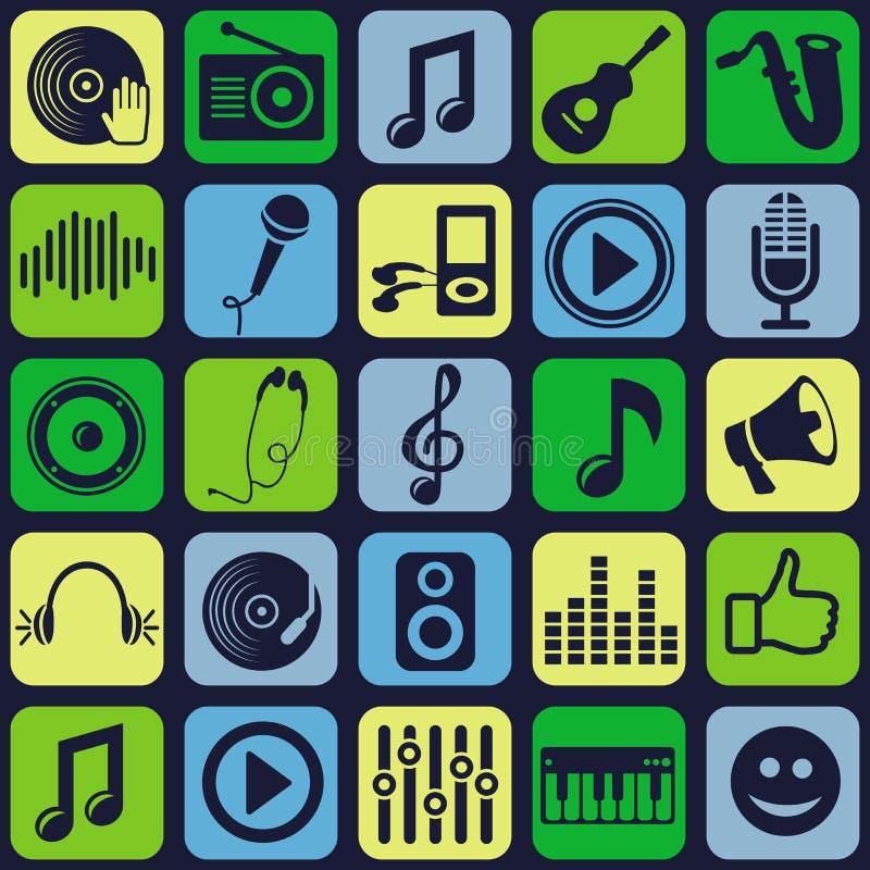Download Wektorowy Muzyczny Bezszwowy Wzór Ilustracja Wektor - Ilustracja złożonej z ozdobny, headquarter: 28971137