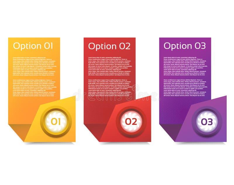 Wektorowy postępu tło, produkt wersja, wybór/lub ilustracji