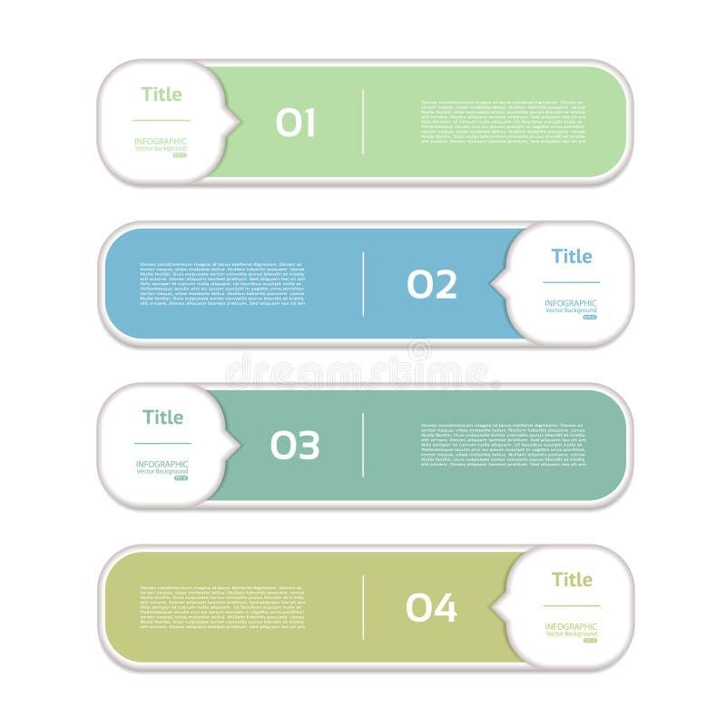 Wektorowy postępu tło, produkt wersja, wybór/lub royalty ilustracja