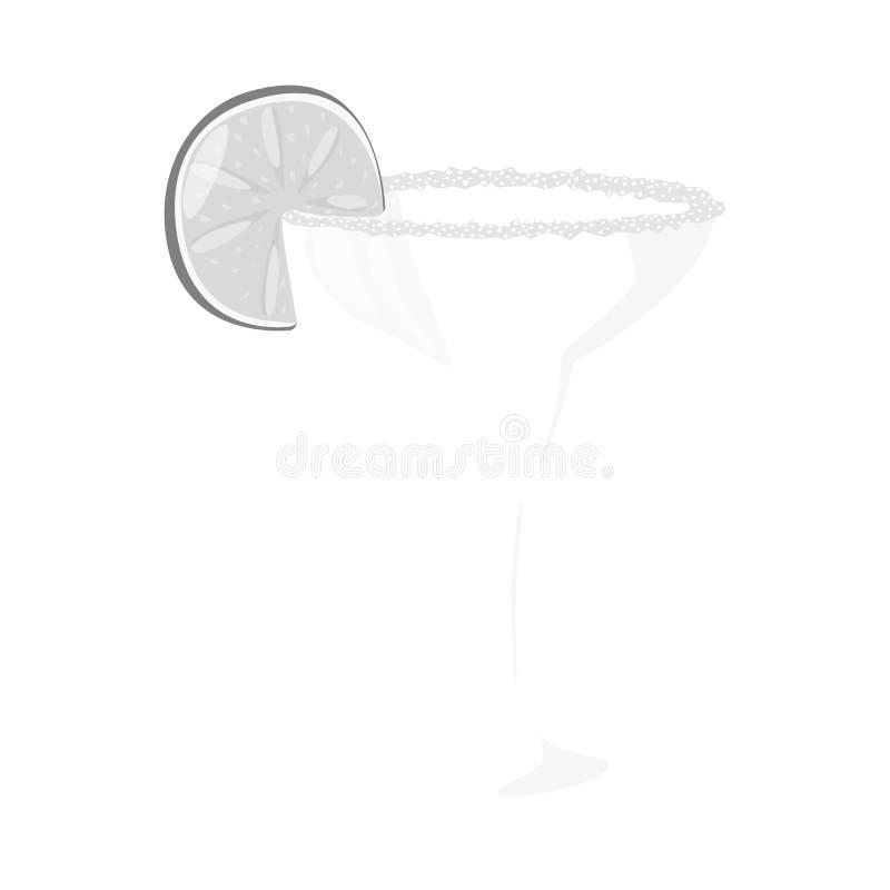 Wektorowy projekt koktajlu i szk?a znak Kolekcja koktajlu i napoju akcyjna wektorowa ilustracja royalty ilustracja