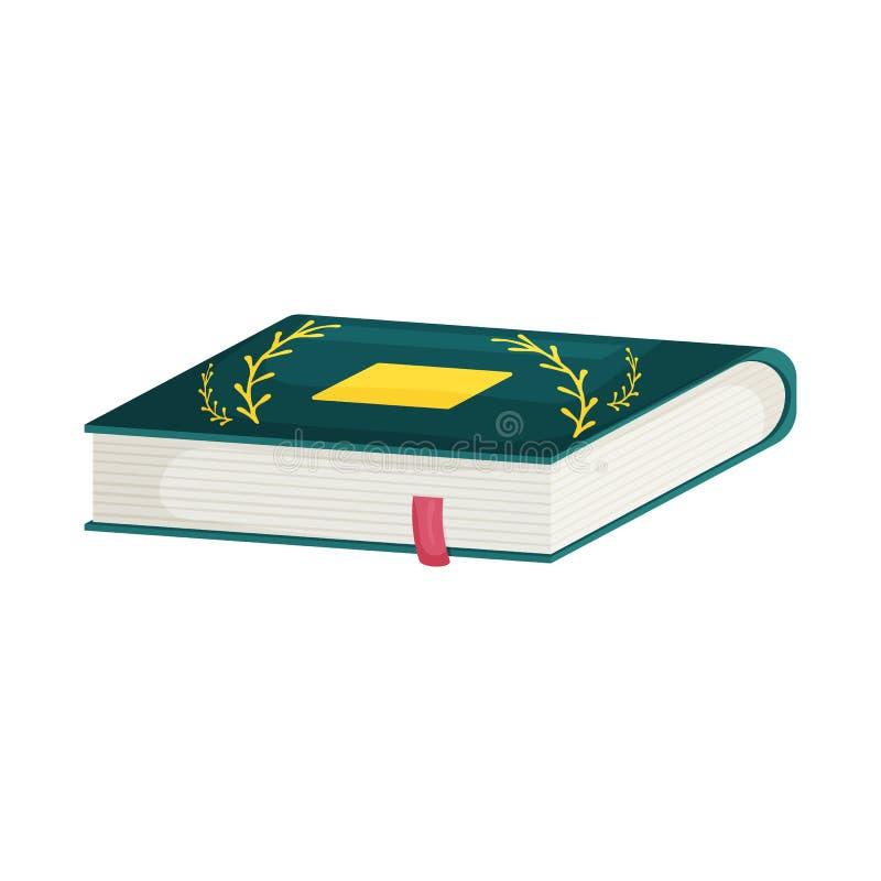 Wektorowy projekt książki i słownika ikona Set ksi??ki i encyklopedii akcyjna wektorowa ilustracja royalty ilustracja