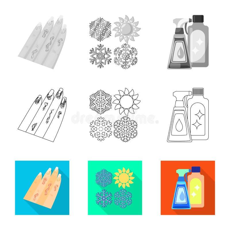 Wektorowy projekt medyczna i b?lowa ikona Kolekcja medyczna i choroba wektorowa ikona dla zapasu ilustracji