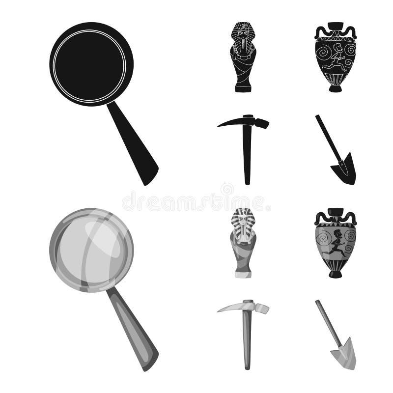 Wektorowy projekt opowie?? i rzeczy ikona Kolekcja opowie?ci i atrybut?w akcyjny symbol dla sieci royalty ilustracja