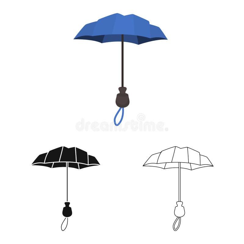 Wektorowy projekt parasol i sprawozdanie znak Kolekcja parasol i klasyka akcyjna wektorowa ilustracja ilustracji