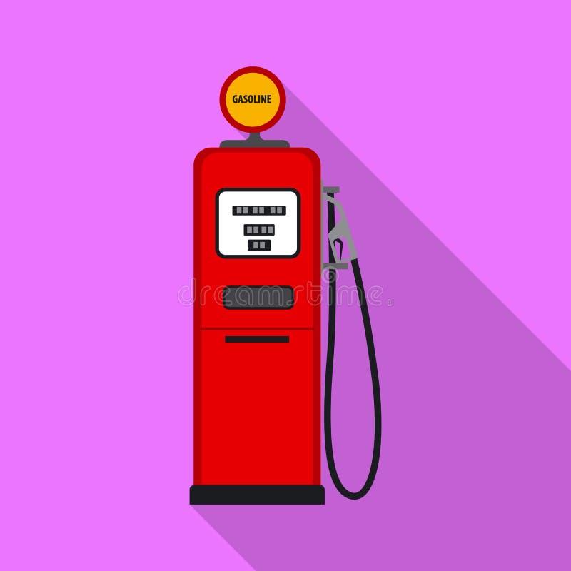 Wektorowy projekt ropa i gaz ikona Kolekcja oleju i benzyny akcyjny symbol dla sieci royalty ilustracja