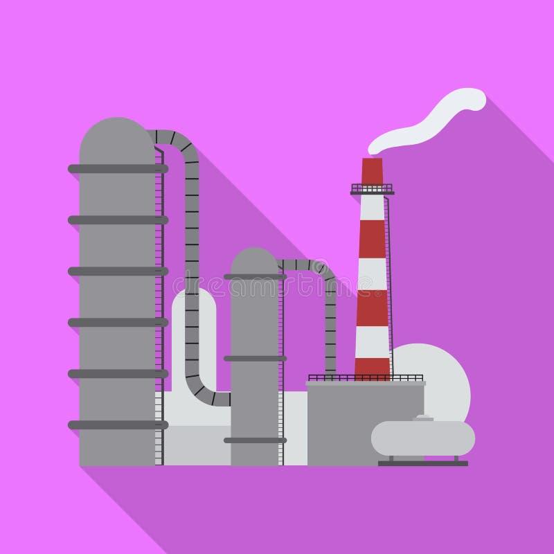 Wektorowy projekt ropa i gaz ikona Set oleju i benzyny wektorowa ikona dla zapasu royalty ilustracja