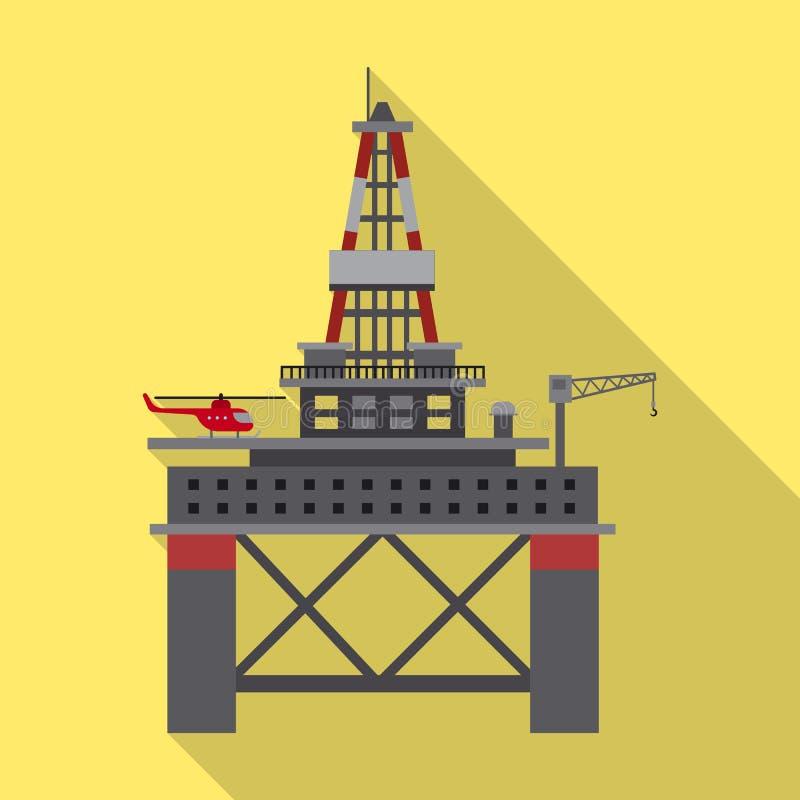 Wektorowy projekt ropa i gaz logo Kolekcja oleju i benzyny akcyjny symbol dla sieci ilustracji