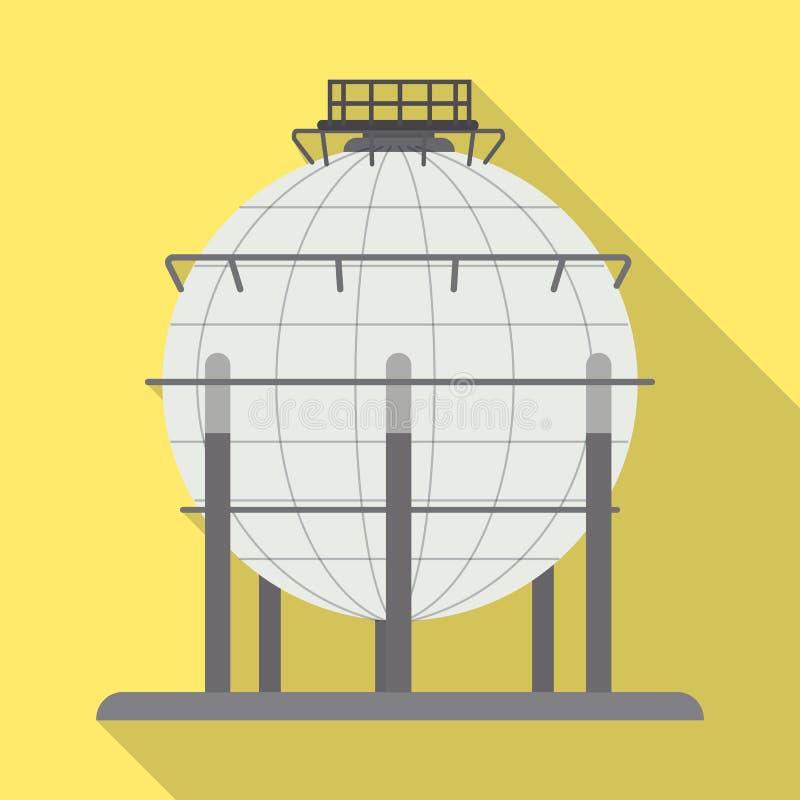 Wektorowy projekt ropa i gaz logo Kolekcja oleju i benzyny wektorowa ikona dla zapasu ilustracja wektor