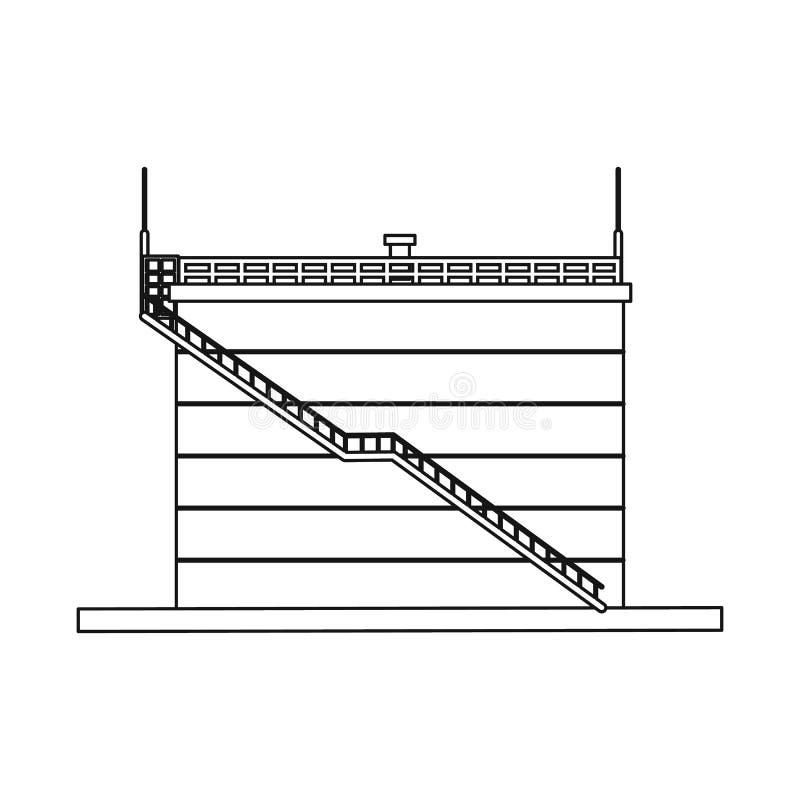 Wektorowy projekt ropa i gaz logo Set oleju i benzyny akcyjny symbol dla sieci ilustracji