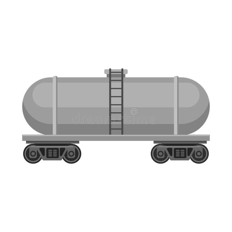 Wektorowy projekt ropa i gaz symbol Kolekcja oleju i benzyny wektorowa ikona dla zapasu royalty ilustracja