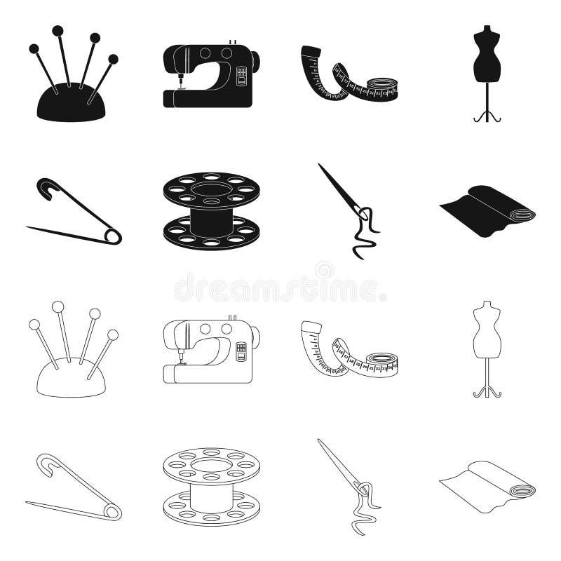 Wektorowy projekt rzemios?o i handcraft ikon? Set rzemios?a i przemys?u akcyjna wektorowa ilustracja royalty ilustracja