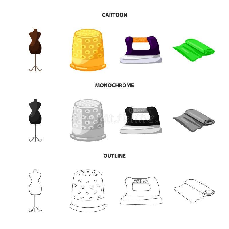 Wektorowy projekt rzemios?o i handcraft logo Kolekcja rzemios?a i przemys?u wektorowa ikona dla zapasu ilustracja wektor