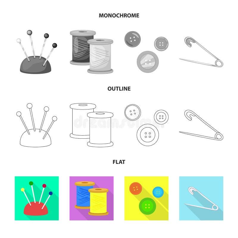 Wektorowy projekt rzemios?o i handcraft logo Set rzemios?a i przemys?u akcyjna wektorowa ilustracja ilustracji