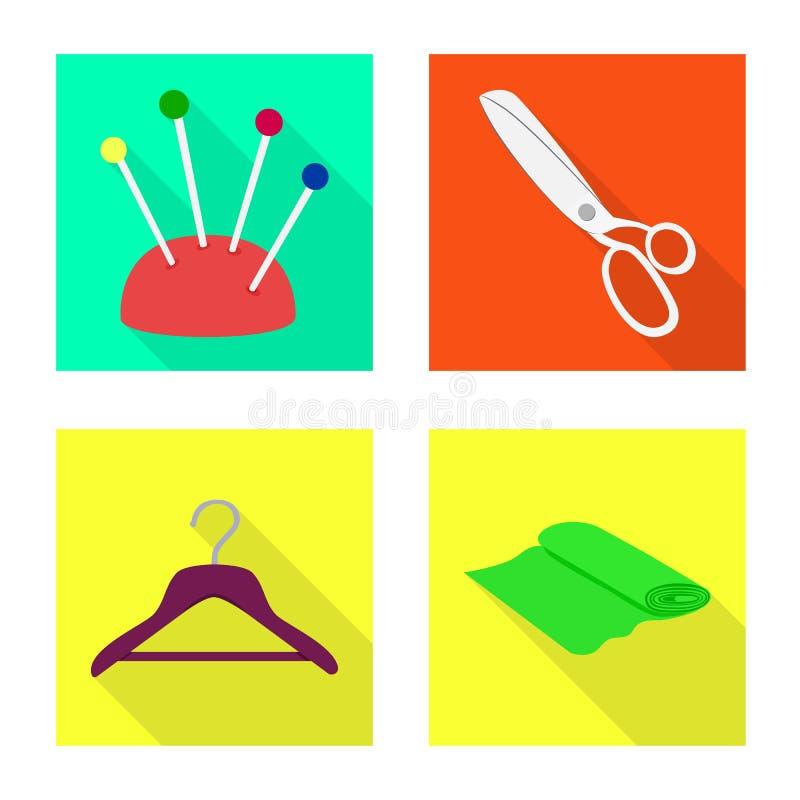 Wektorowy projekt rzemios?o i handcraft znaka Kolekcja rzemios?a i przemys?u wektorowa ikona dla zapasu ilustracji