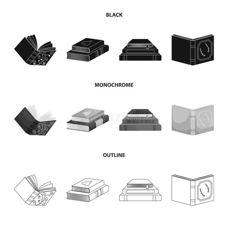 Wektorowy projekt szkolenia i pokrywy ikona Kolekcja szkolenie i bookstore wektorowa ikona dla zapasu ilustracji