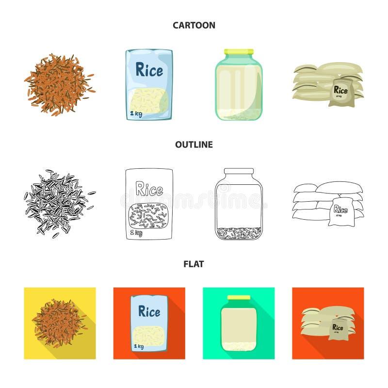Wektorowy projekt uprawa i ekologiczny logo Kolekcja uprawa i kucharstwo akcyjna wektorowa ilustracja royalty ilustracja