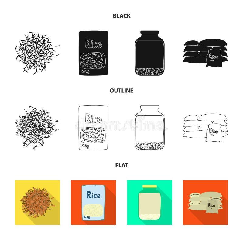 Wektorowy projekt uprawa i ekologiczny logo Kolekcja uprawa i kucharstwo akcyjny symbol dla sieci royalty ilustracja