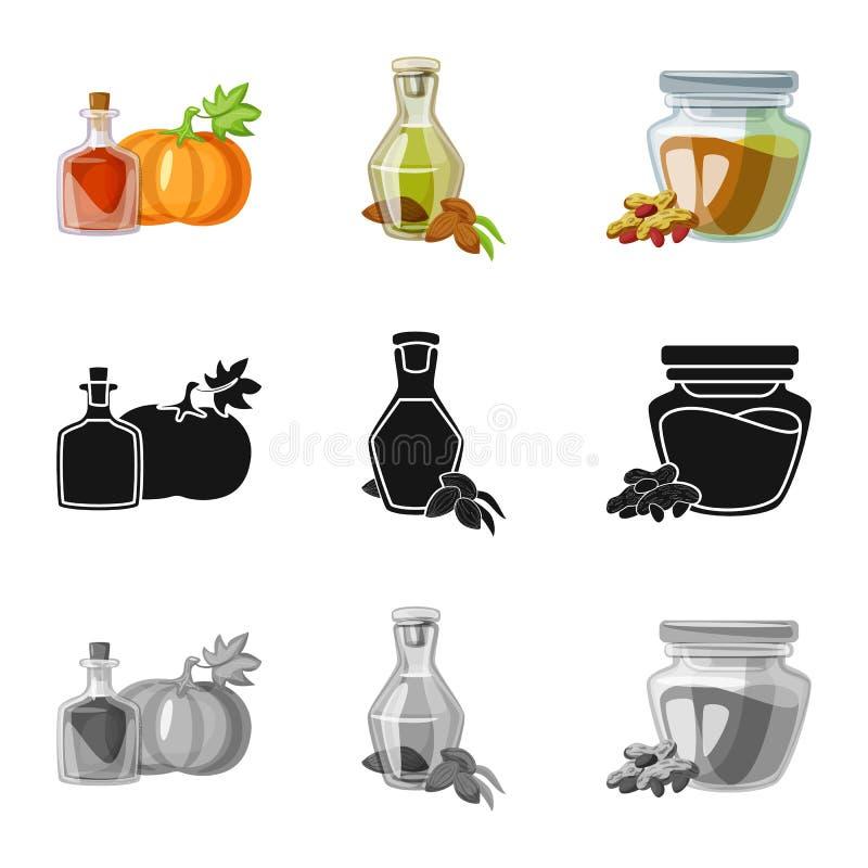 Wektorowy projekt zdrowa i jarzynowa ikona Kolekcja zdrowa i rolnictwo wektorowa ikona dla zapasu royalty ilustracja