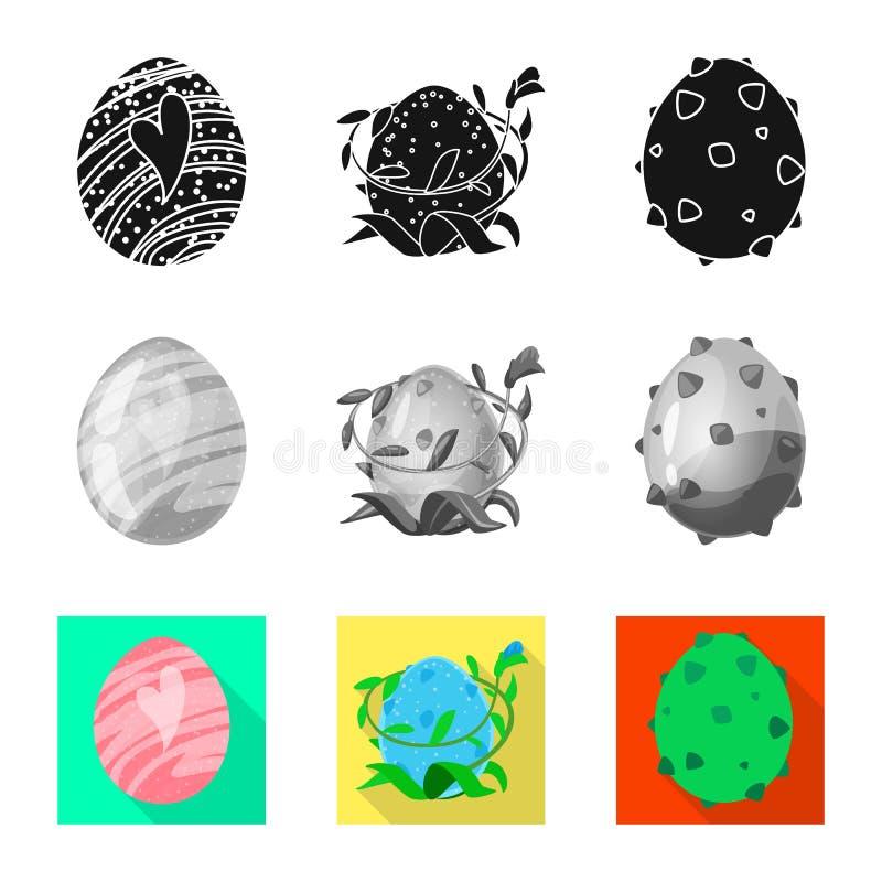 Wektorowy projekt zwierz?cy i prehistoryczny znak Kolekcja zwierz?ca i ?liczna akcyjna wektorowa ilustracja ilustracja wektor