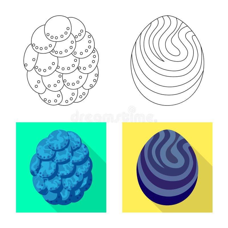 Wektorowy projekt zwierz?cy i prehistoryczny znak Kolekcja zwierz?cy i ?liczny akcyjny symbol dla sieci ilustracji