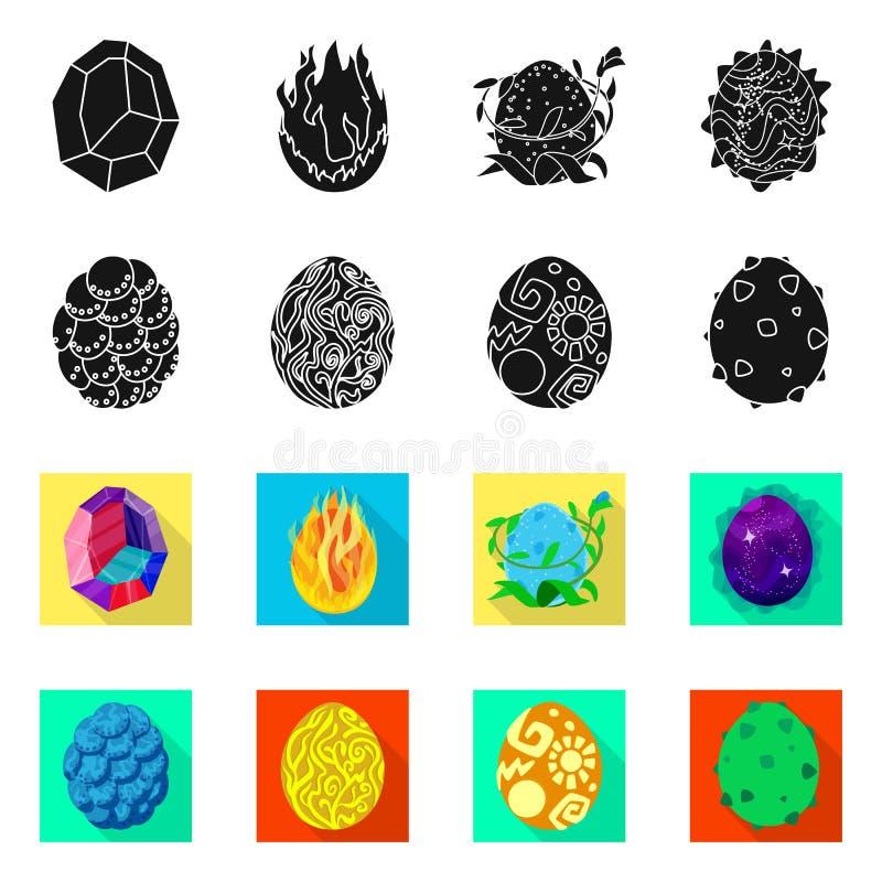 Wektorowy projekt zwierz?cy i prehistoryczny znak Kolekcja zwierz?cy i ?liczny akcyjny symbol dla sieci ilustracja wektor