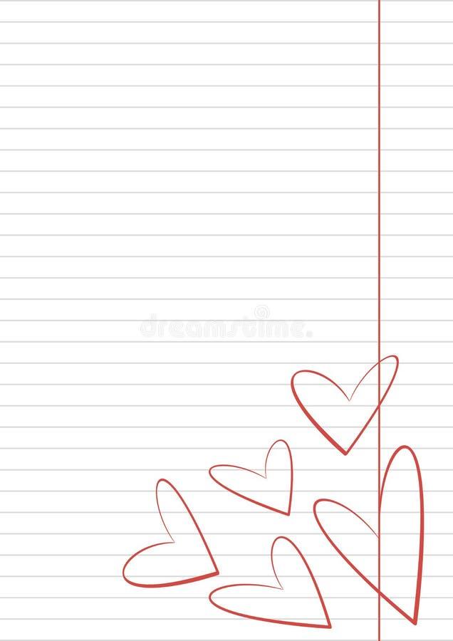 Lettera Auguri Matrimonio : Wektorowy puste miejsce dla listu lub kartka z