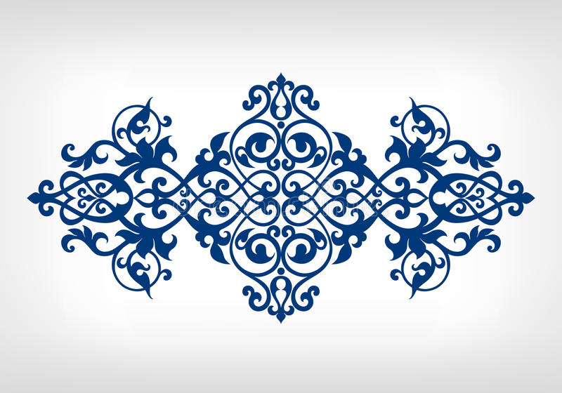 Wektorowy rocznika ornamentu kaligrafii ramy wzór