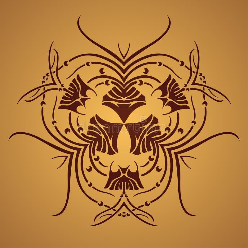 Download Wektorowy Round Retro Ornament Ilustracja Wektor - Ilustracja złożonej z ethnic, okrąg: 41954797
