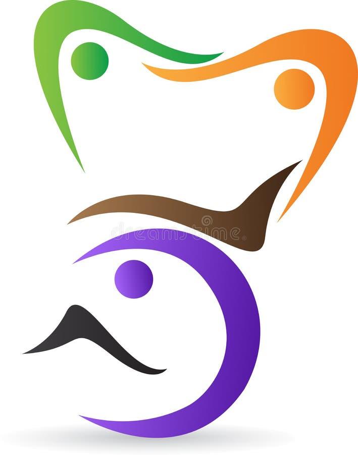 Szefa kuchni logo royalty ilustracja