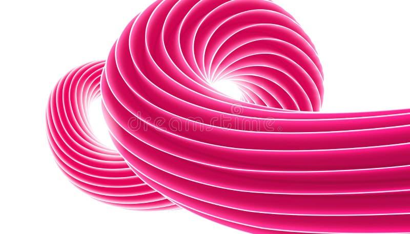 Wektorowy słodki cukierku zawijasa tło Cukierki spirala Gumy do żucia lub bąbla dziąsła wzoru projekt dla sztandaru, plakat, ulot ilustracja wektor