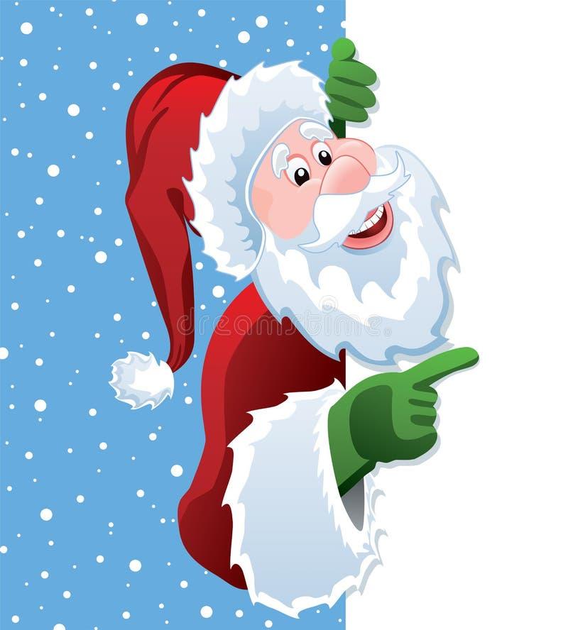 wektorowy Santa ilustracja wektor